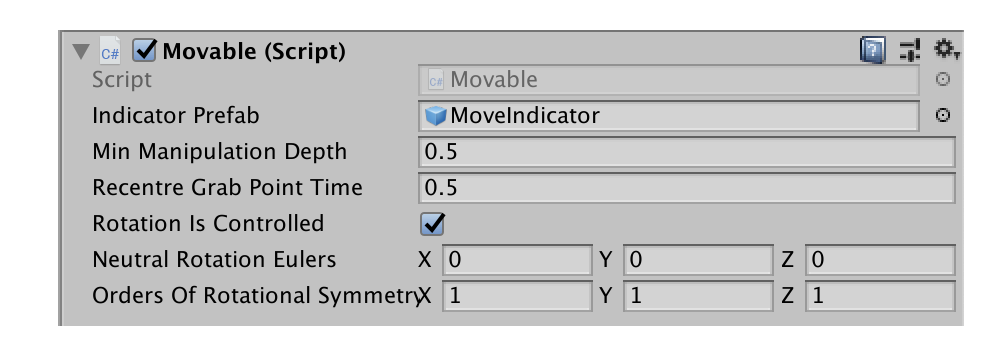 Movable Component