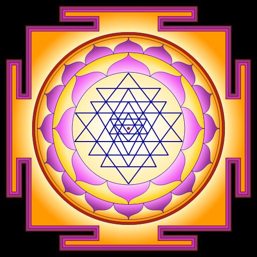 Sri Yantra by atarax42\. Creative Commons.