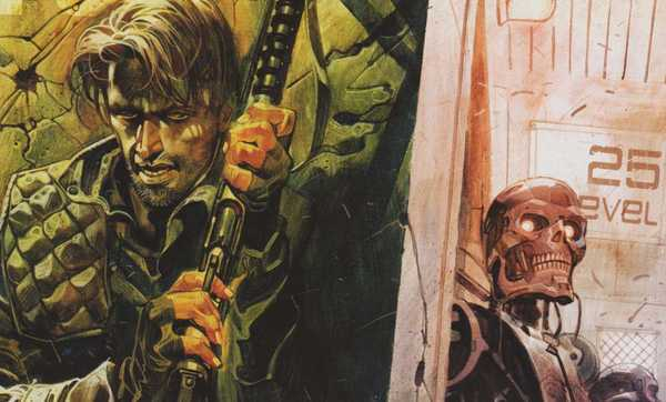John Connor em Capa de O Exterminador do Futuro 2029 - 1984