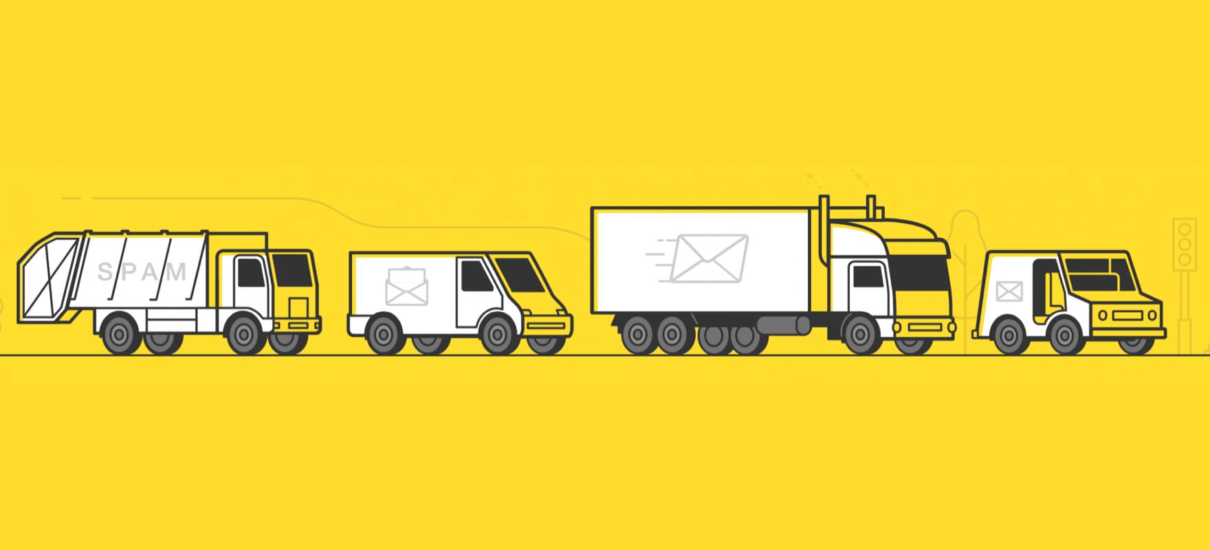 Postmark brand illustration.