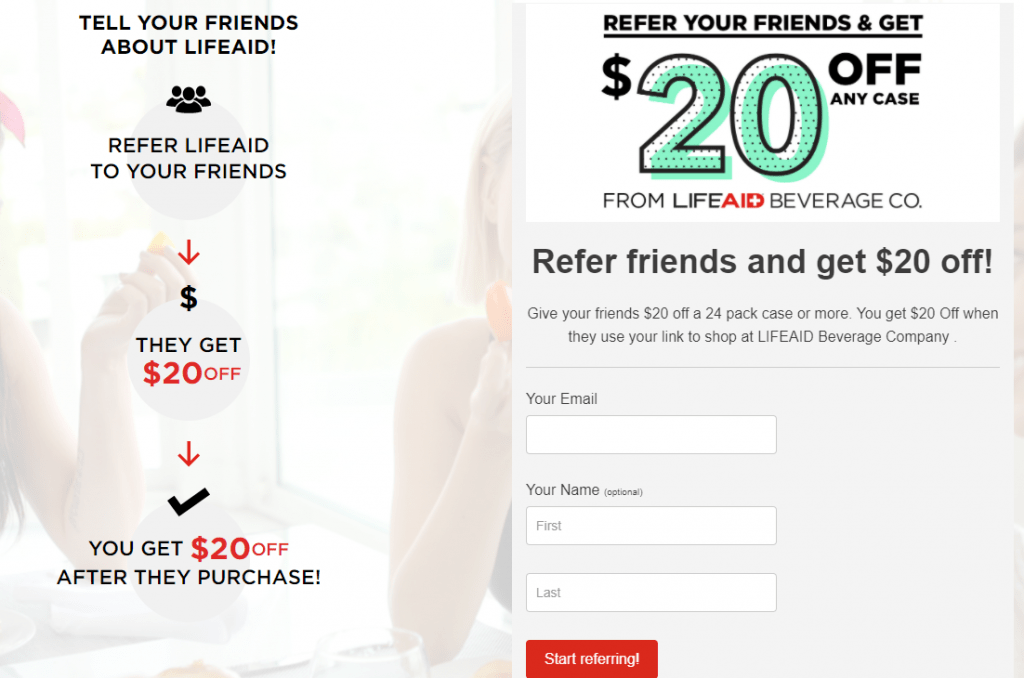 Lifeaid referral program