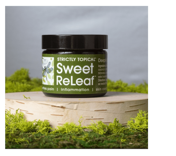 Sweet ReLeaf Cannabis Body Butter