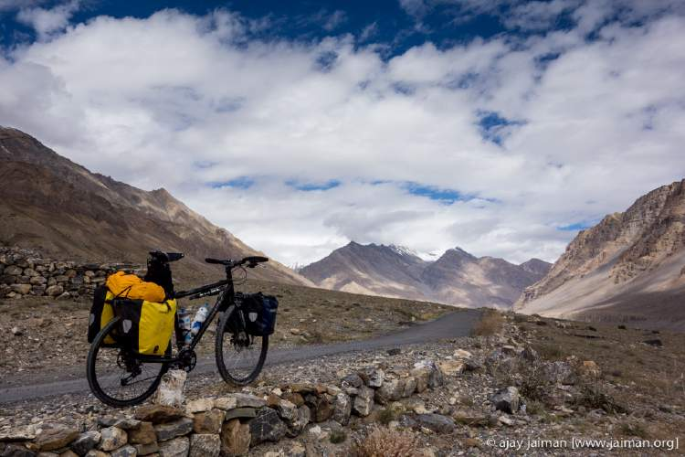 My current cycle rig for cycling in the Indian Himalayas