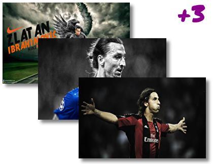 Zlatan Ibrahimovic theme pack