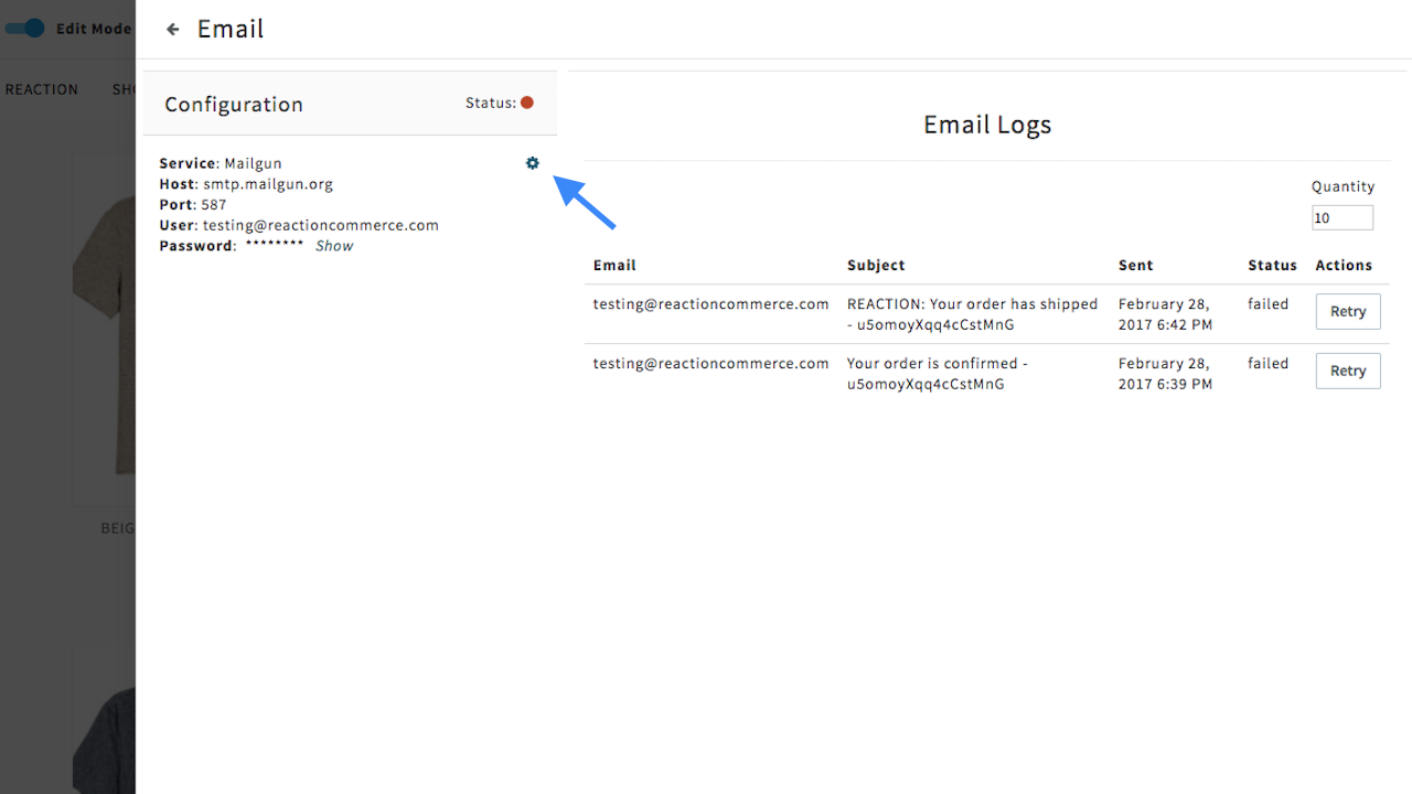 Email · Reaction Docs