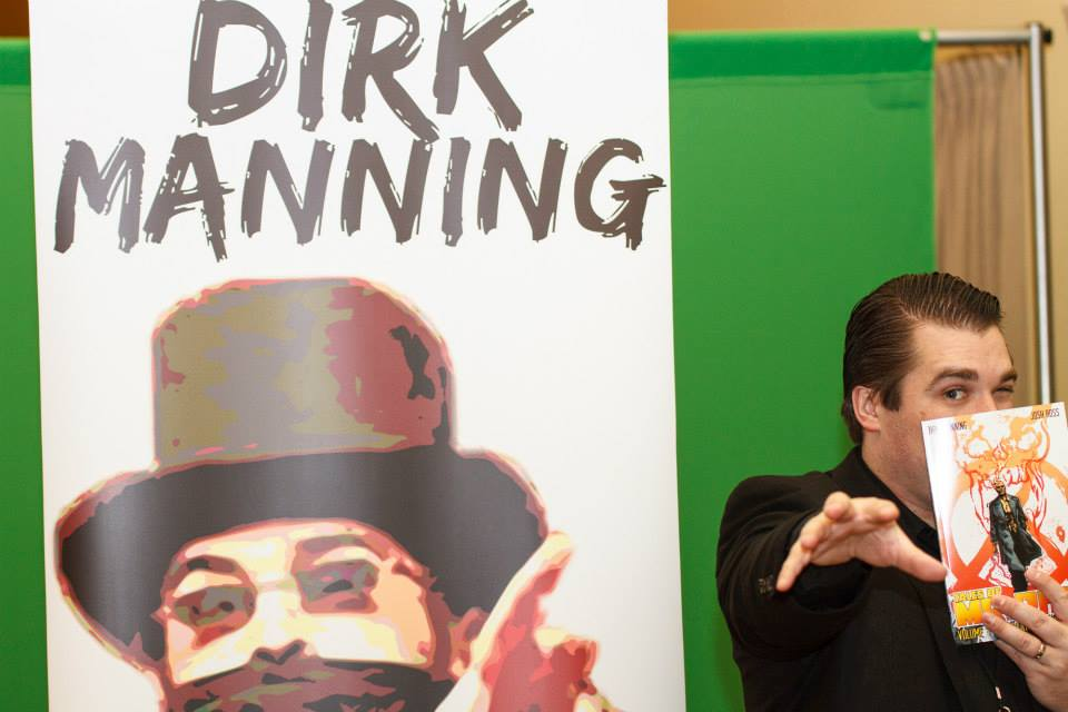 Dirk Manning at Animarathon XII.