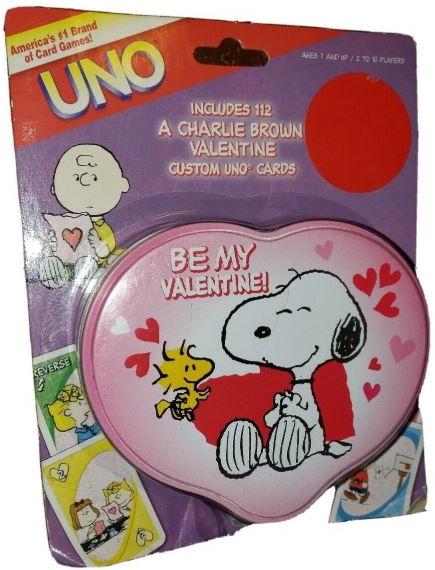 Peanuts: A Charlie Brown Valentine Uno