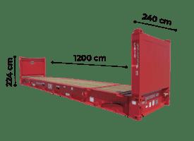 TrawlFeet - Container Flat Rack \<