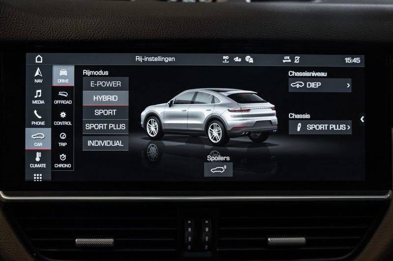 Porsche Cayenne Coupé Hybrid 22 Turbo Luchtvering Surround Camera ACC 3.0 E-Hybrid afbeelding 21