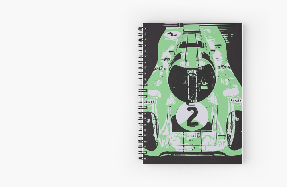 Spiral Notebooks by thespeedart