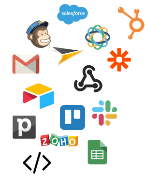 Connect your chatbot to your apps with zapier