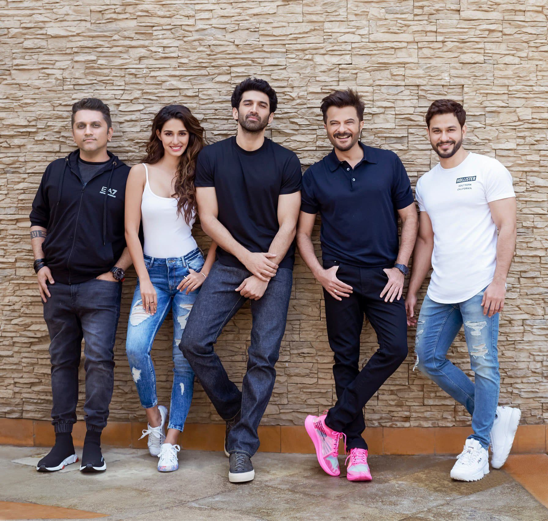 Anil Kapoor with Malang starcast