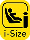 Logo testu i-Size