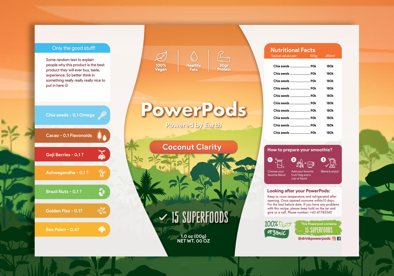 PowerPods Print Mockup