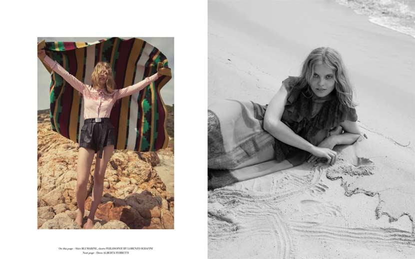 Elisabetta Cavatorta Stylist - La Plage Sauvage - Stefania Paparelli - Mia Le Journal
