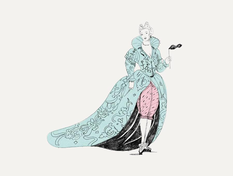 Иллюстрация Марианны Штымы из книги «Тайная история трусов для почти взрослых»