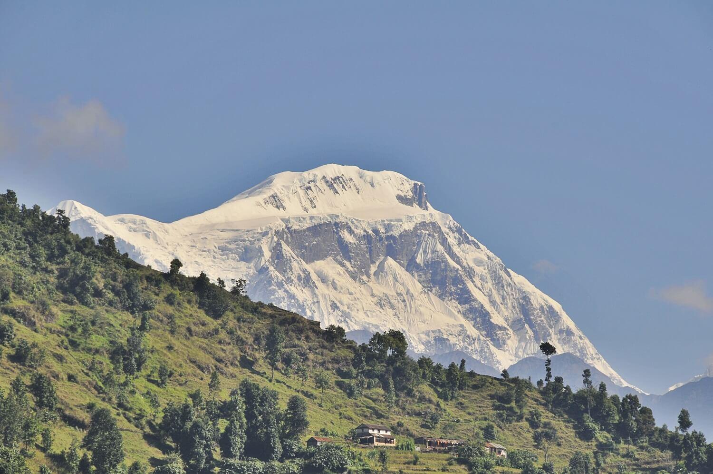 Dhampus Peak View