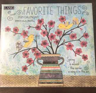 Lang Favorite Things Calendar
