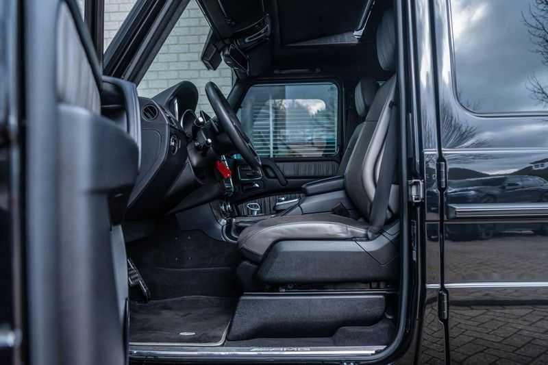 Mercedes-Benz G-Klasse 63 AMG, 571 PK, Full/Black Optiek, Schuif/-Kanteldak, TV, Harman/Kardon, Designo leder, Distronic, 57DKM!!! afbeelding 19