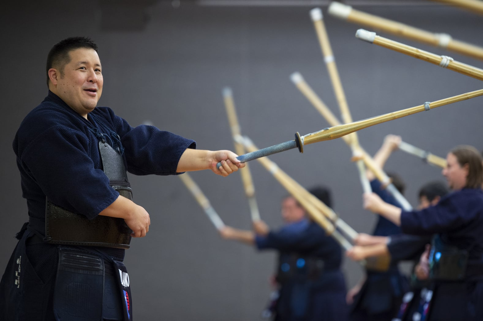 Kendo Training Session Picture Background