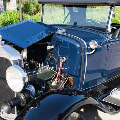 Ford Model A Roadster 1930 4