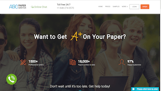 abcpaperwriter.com main page