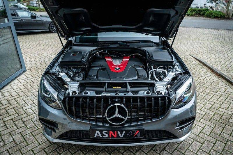 Mercedes-Benz GLC 43 AMG 4MATIC, 367 PK, 63 AMG Look, Panoramica, Airmatic, Trekhaak, Camera, LED, Comand Online, 87DKM! afbeelding 21