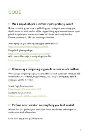 The Node.js Security Handbook page 3