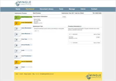 Mingle Analytics screen shot