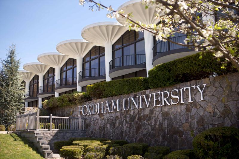 Modernist architecture at Fordham University Westchester campus