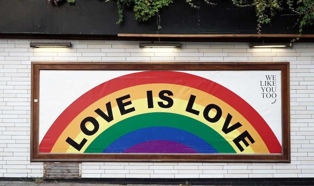 Yeah love is love!