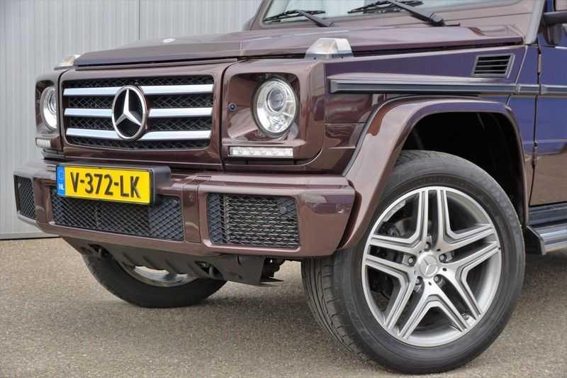 Mercedes-Benz G-Klasse 350 D / Grijs kenteken / Ex. BTW / NL-Auto / 68dkm NAP / Camera / Trekhaak / Climate / Cruise afbeelding 25