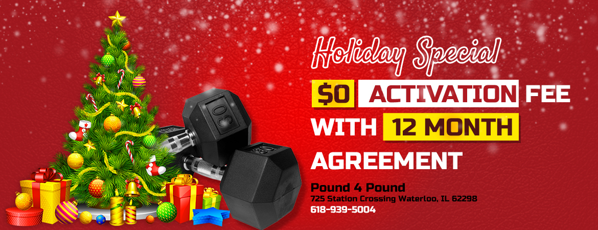 Holiday Special - $0 Activation Fee with 12-Month Agreement