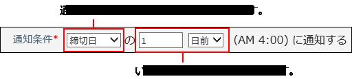 通知条件のイメージ