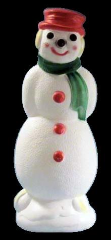 Skating Snowman photo