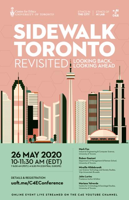 Sidewalk Toronto poster