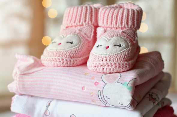 gebreide baby schoenen