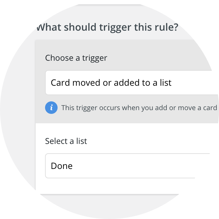 Rindle automations trigger detail image