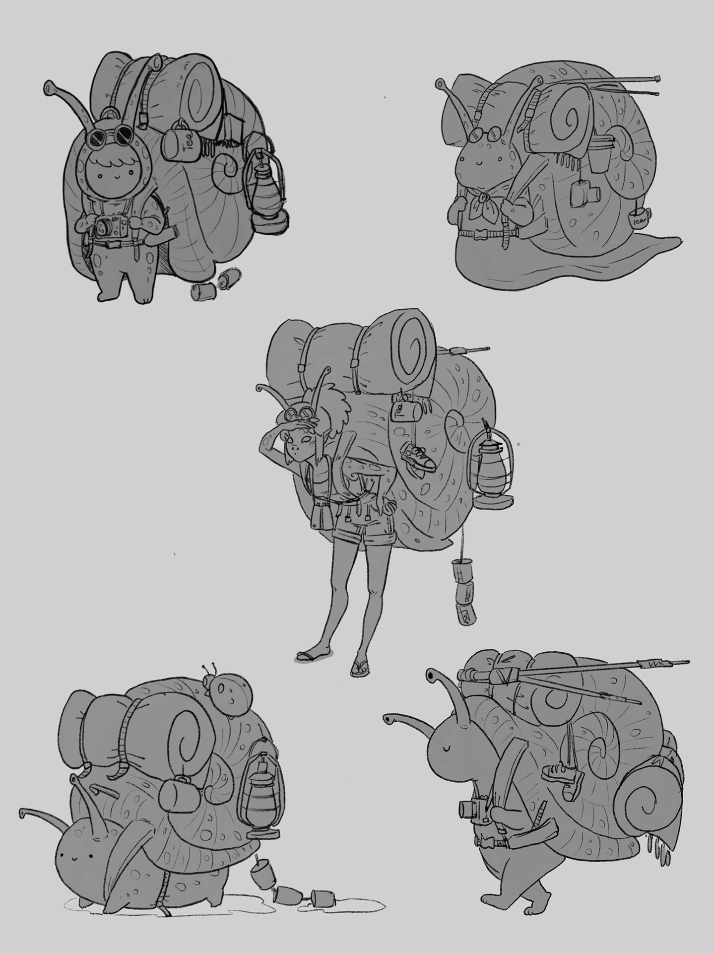 Backpacker sketch 2 image