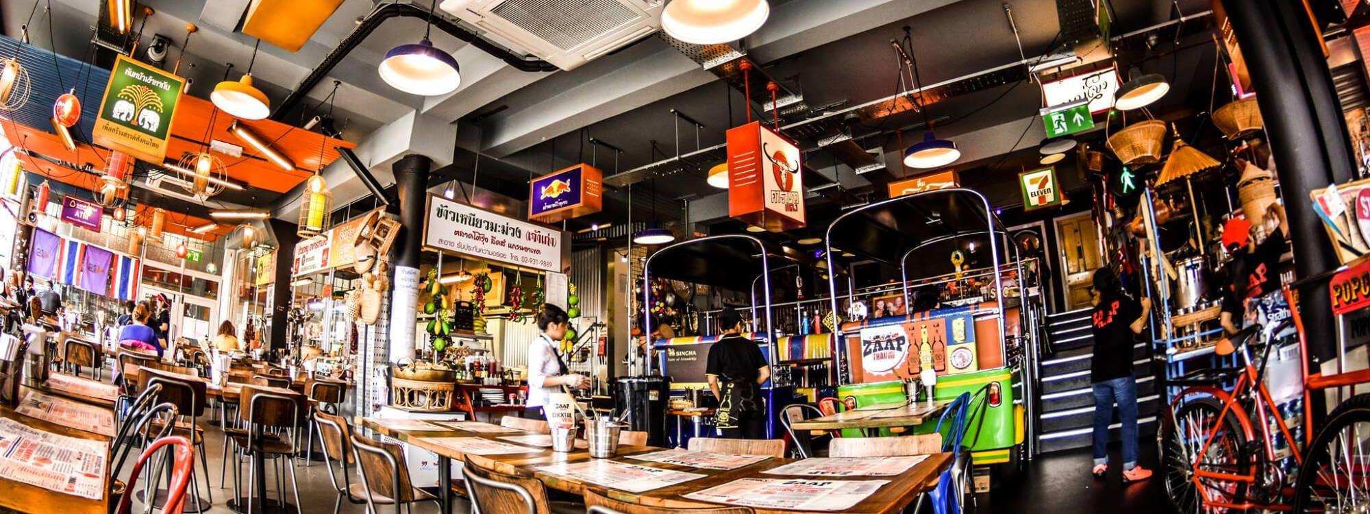 Thai Street Food at its best. A taste of Bangkok in Leeds. inside