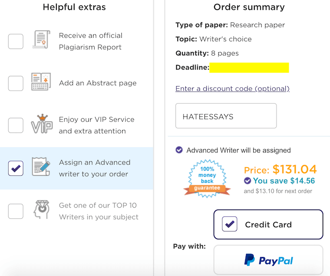 paperhelp.org order process