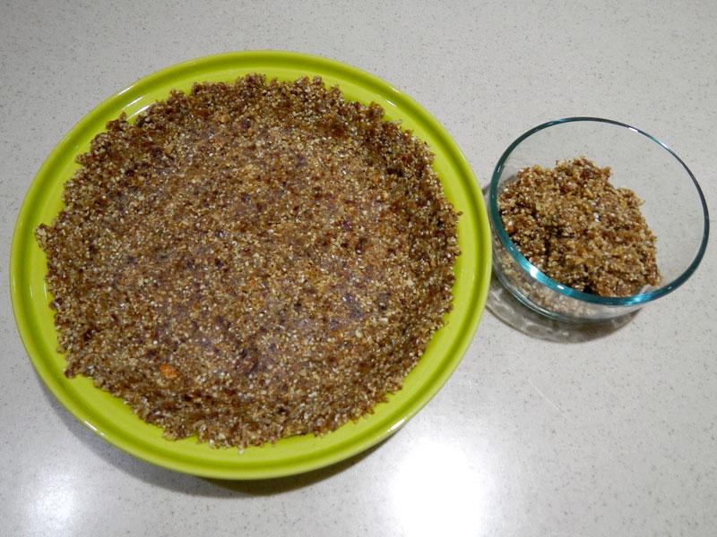 Finished Nut Crust