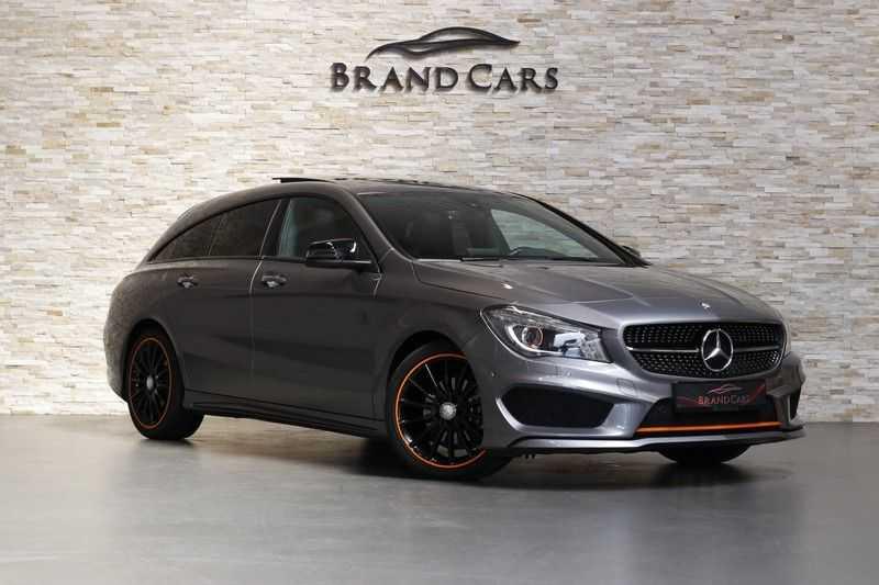 Mercedes-Benz CLA-Klasse Shooting Brake 200 OrangeArt Edition | VERKOCHT! | | Panoramadak | Memory stoelen | AMG Pakket | Night Pakket | Achteruitrijcamera | afbeelding 6