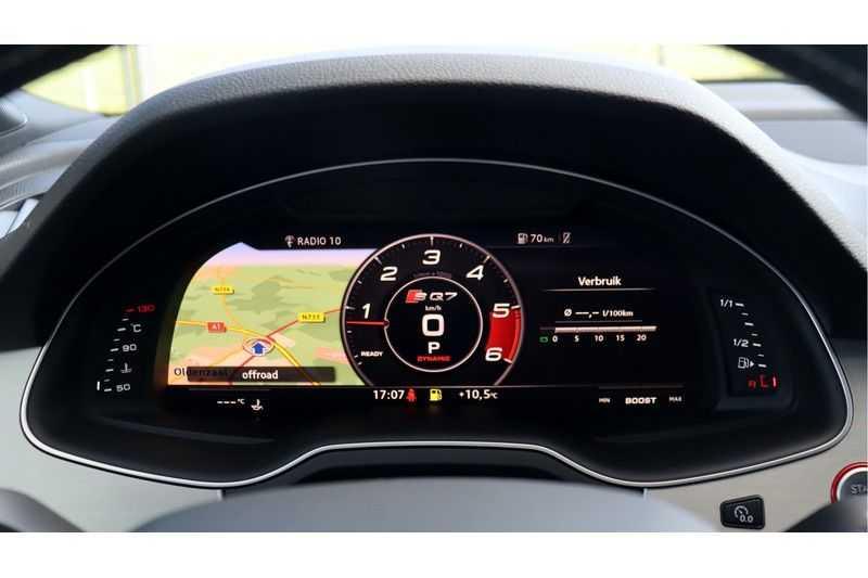 Audi Q7 4.0 TDI SQ7 quattro Pro Line + BOSE, Ruitstiksel, Carbon, Trekhaak afbeelding 23