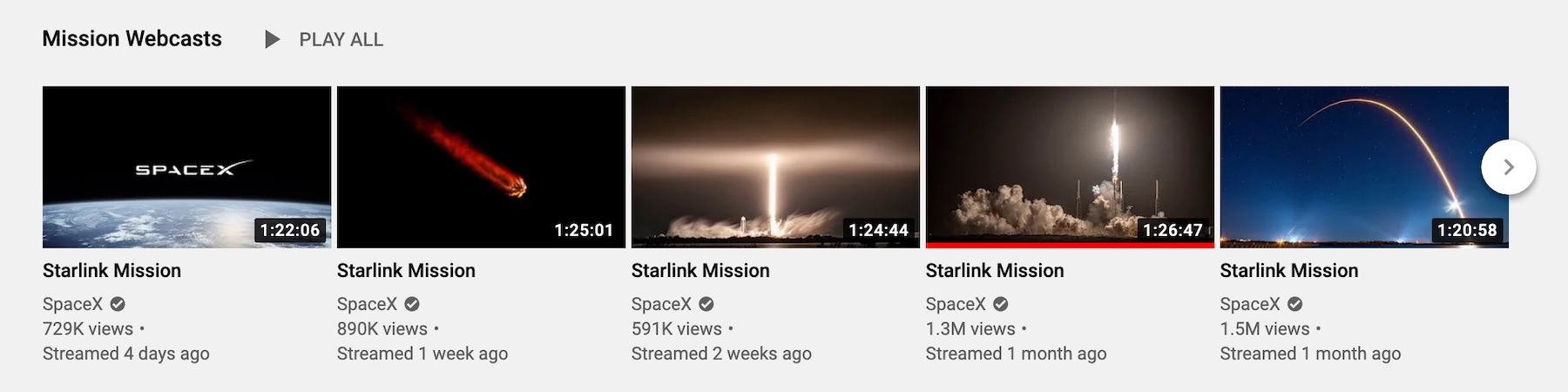 Starlink's impressive deployment pace