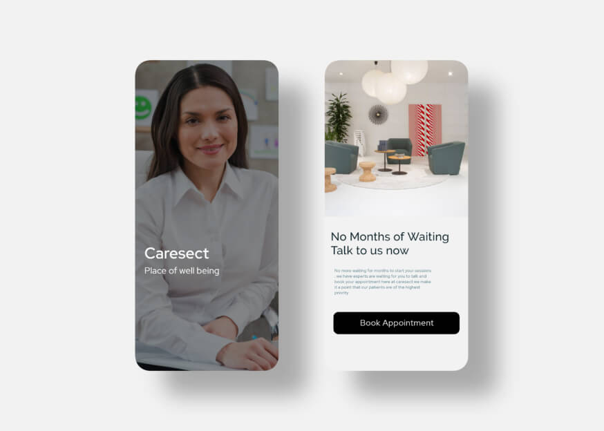 Caresect UI Elements