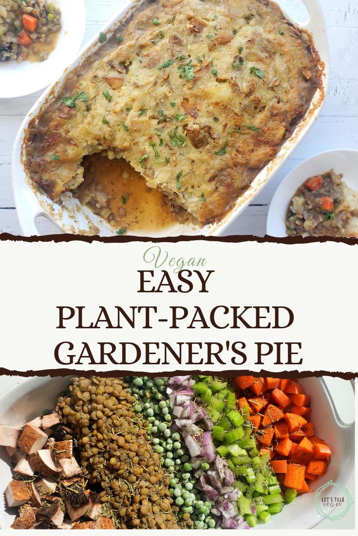 Gardener's pie casserole