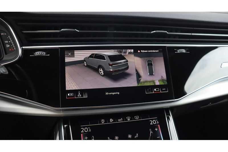 Audi SQ7 4.0 TDI 435pk quattro 7p Panoramadak, BOSE, Massage, Ruitstiksel, Trekhaak afbeelding 19