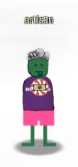 My avatar at Kringlecon