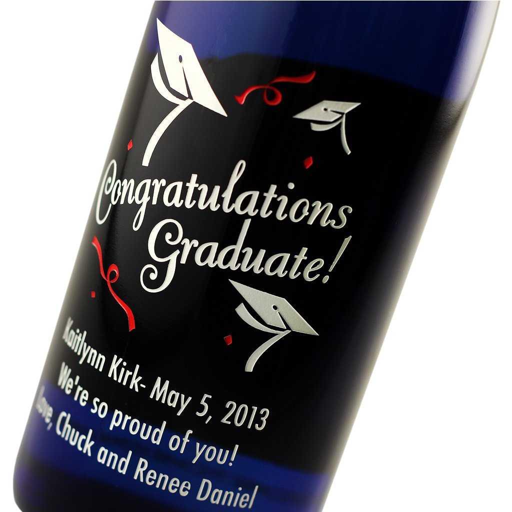 graduation wine gift